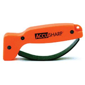 AccuSharp Knife and Tool Sharpener Polymer Orange