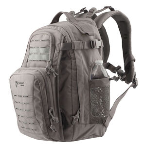 Drago Gear Defender Backpack 17.5x14.5x11.25 Dual Beverage Holder AR Magazine Pouches Steel Gray