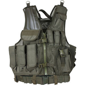 Fox Outdoor MACH-1 Tactical Vest Olive Drab