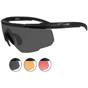 Wiley X Eyewear Saber Advanced Safety Glasses Black 309