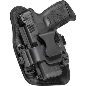 Alien Gear ShapeShift Appendix Carry GLOCK 19 IWB Holster Left Handed Synthetic Backer with Polymer Shell Black