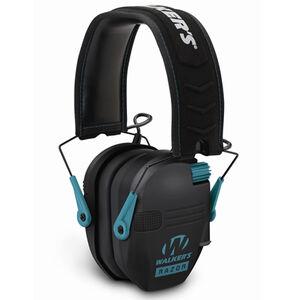 Walker's Game Ear Razor Electronic Slim Folding Earmuffs Teal