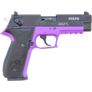 "ATI/GSG Firefly HGA 22 LR Semi Auto Pistol 4"" Barrel 10 Rounds Alloy Frame Purple/Black"