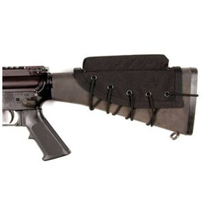 BLACKHAWK! Rifle Cheek Pad/Riser Tie Down Nylon Black 90CP00BK