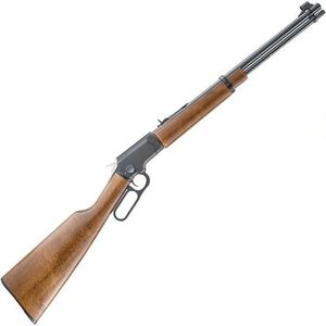 """Chiappa Firearms LA322 Standard Take Down Lever Action Rimfire Rifle .22 LR 18.5"""" Barrel 15 Rounds Wood Stock Blued Finish"""