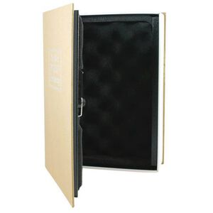 Bulldog Cases Deluxe Diversion Book Safe Brown BD1182