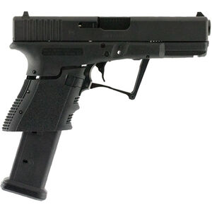 "Full Conceal M3D G19 Gen 3 9mm Luger Folding Semi Auto Pistol 21 Rounds 4.01"" Barrel Polymer Frame Black"