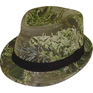 Realtree Girls and Ladies Fedora Cotton Blend Realtree Max-1 Fits Most
