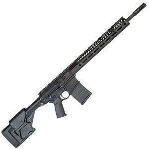 "Seekins Precision SP10 Semi Auto Rifle .308 Winchester 18"" Match Barrel 20 Rounds 15"" SP3R M-LOK Hand Guard ProComp 10X Adjustable Stock Matte Black"