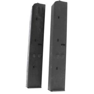 Original Uzi 32 Round Surplus Magazine 9mm Luger Steel Matte Black Finish