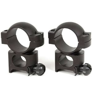 "Simmons 1"" See Thru Scope Rings Weaver Mount Matte Black"