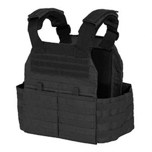 Voodoo Tactical X-Lite Gen II Plate Carrier with MOLLE Cummerbund Nylon Small to Medium Black 20-720201339