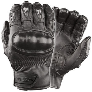 Damascus Protective Gear Vector Hard Knuckled Riot Gloves Small Black CRT50SM