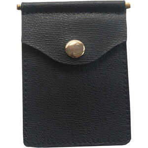 Concealed Carrie Compact Wallet RFID Protected Leather Black