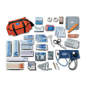 Emergency Medical International Pro Response Complete Kit, Orange