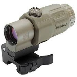 "EOTech G33.STS 3.25x Red Dot Magnifier with ""Switch to Side"" Picatinny Mount Desert Tan G33.STS.TAN"