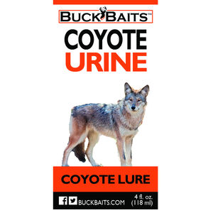 Buck Baits Coyote Urine 4oz (118g) Bottle