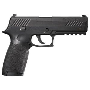 SIG Sauer P320 Full Metal Blowback CO2 BB/.177 Pellet Pistol  Black