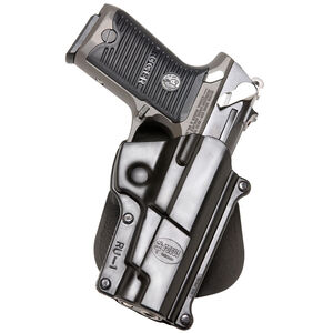 Fobus Holster Ruger P85,P89,P91 Right Hand Paddle Attachment Polymer Black