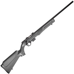 "Rossi RB17 .17 HMR Bolt Action Rimfire Rifle 21"" Barrel 5 Rounds Black/Carbon Fiber Look Finish"