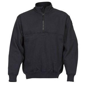 Elbeco Shield Job Shirts Self Collar Size Small Regular Cotton Blended Fleece Midnight Navy