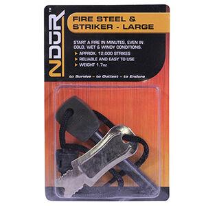 Proforce Equipment Fire Steel and Striker Large, Black