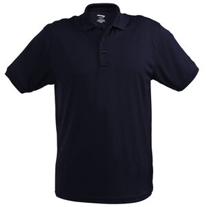 Elbeco UFX Ultra Light Women's Short Sleeve Polo Large 100% Polyester Swiss Pique Knit Midnight Navy