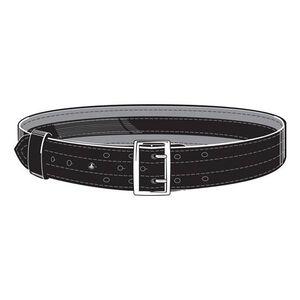 """Safariland Model 87V Suede Lined 2.25"""" Duty Belt With Velcro System 44"""" Waist Nickel Buckle Basket Weave Black 87V-44-8"""