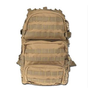 "DRAGO Gear Assault Backpack 20""x15""x13"" 600D Polyester Tan 14-302TAN"