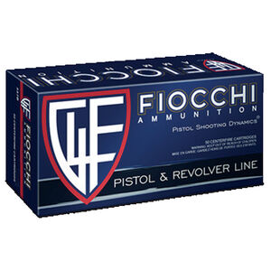 FIOCCHI Shooting Dynamics .357 Magnum Ammunition 50 Rounds JHP 158 Grains 357B