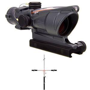 Trijicon ACOG 4x32 Scope Dual Illuminated Red Crosshair .223 Ballistic Reticle with TA51 Mount Cerakote Sniper Gray TA31-C-100370