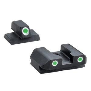 AmeriGlo Classic FNX .40 S&W Three Dot Tritium Set Steel