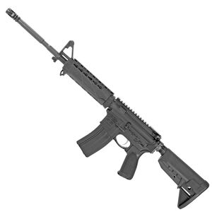 "Bravo Company Manufacturing USA M4 Mod 0 Carbine AR-15 5.56 NATO Semi Auto Rifle 16"" Barrel 30 Rounds Polymer KeyMod Hand Guard Carbine Stock Matte Black Finish"