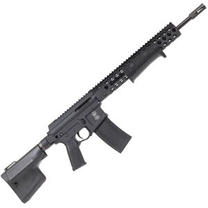 """Troy Industries Optics Ready AR-15 .300 AAC Blackout Pump Action Rifle 16"""" Barrel 10 Round Magazine TRX2 Style Hand Guard/Integrated Pump Action Matte Black"""