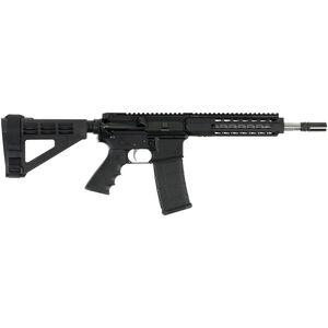 "Bushmaster SquareDrop 5.56 NATO AR-15 Semi Auto Pistol 10.5"" Barrel 30 Rounds SquareDrop Free Float Handguard SB Tactical Pistol Brace Black Finish"