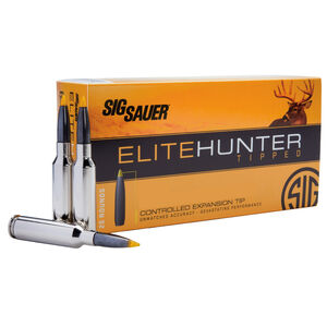 SIG Sauer Elite Hunting Tipped .270 Winchester Ammunition 20 Rounds 140 Grain Polymer Tipped Projectile 2950 fps