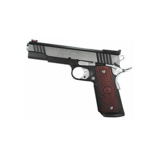 "Metro Arms Corp 1911 Classic Semi Automatic Pistol .45ACP 5"" Match Bull Barrel 8 Rounds Hard Wood Grip Black Chrome M19CL45BC"