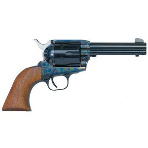 """EAA Bounty Hunter Single Action Army Revolver .45 Long Colt 4.5"""" Barrel 6 Rounds Steel Frame Walnut Grips Color Case Hardened Finish 770095"""