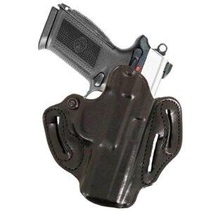 DeSantis Speed Scabbard Belt Holster Taurus Judge Public Defender Right Hand Leather Black 002BAV2Z0