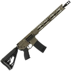 "Diamondback Firearms DB15EMLB AR-15 Semi Auto Rifle 5.56 NATO 30 Rounds 16"" Barrel M-LOK Handguard Collapsible Stock FDE"