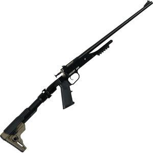 "Keystone Arms Crickett Model 6061 Single Shot Bolt Action Rimfire Rifle .22 LR 16.125"" Barrel Aluminum Alloy Target Chassis Adjustable Stock Blued Finish"