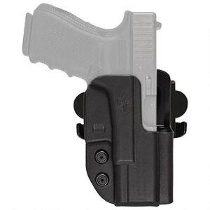 Comp-Tac International Holster GLOCK 17/22/31 OWB Right Handed Kydex Black