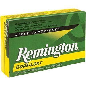 Remington Express 7x64 Brenneke Ammunition 20 Rounds 140 Grain Core-Lokt PSP Soft Point Projectile 2950fps
