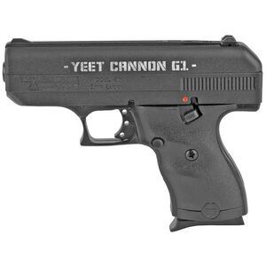 "Hi-Point C9 Yeet Cannon G1 9mm Luger Semi Auto Pistol 3.5"" Barrel 8 Rounds Laser Engraved Slide Polymer Frame Black Finish"
