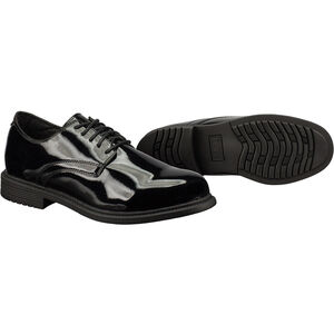 Original S.W.A.T. Dress Oxford Men's Shoe Size 12 Wide Clarino Synthetic Upper Black 118001W-12