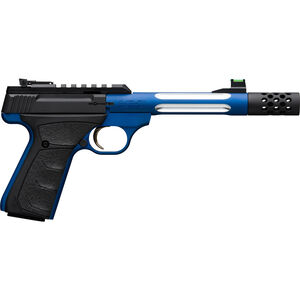 """Browning Buck Mark Plus Lite Competition .22 LR Semi Auto Rimfire Pistol 5.9"""" Threaded Barrel 10 Rounds Picatinny Rail Synthetic Grips Blue/Black Finish"""