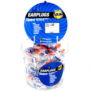 Howard Leight Disposable Super Leight Ear Plugs Foam Orange 50 Pairs 33333