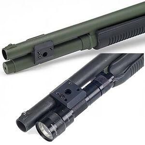 Mesa Tactical Remington 12 Gauge Barrel/Magazine Clamp Machined 6061-T6 Aluminum Black 90800