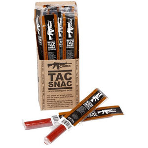 CMMG Tac Snac Pork and Beef Snack Sticks Bacon Flavor 12 Pack