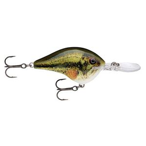 """Rapala Dives-To Series Custom Ink Lure Size 10 Length 2.25"""" Dives 10' Largemouth Bass"""